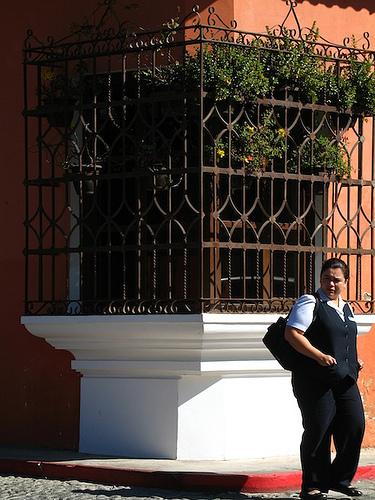 Corner Window in Antigua Guatemala