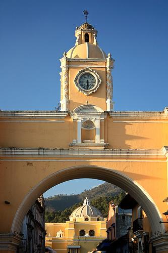 The Arch of Santa Catalina