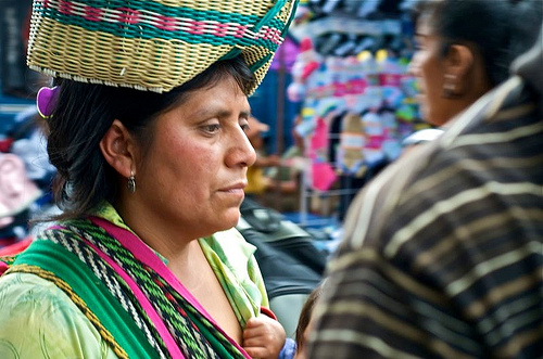 Mayan Women with Poise by Laura McNamara