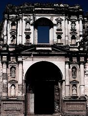 Ruin façade