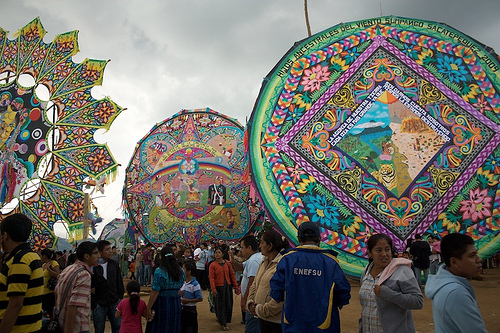 A Day Among the Giant Kites of Sumpango