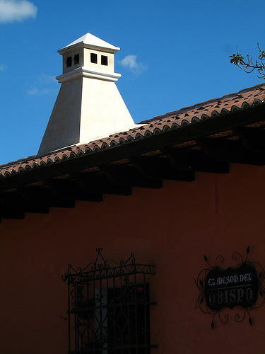 Typical Kitchen Cupola from Antigua Guatemala