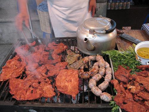 Guatemalan Cuisine: Carne Adobada, Longanizas, Viuda