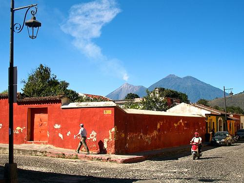 Smoke Signals from Volcán de Fuego