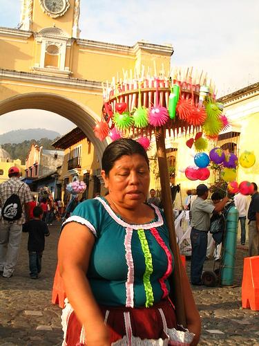 Festive Mood at Calle del Arco