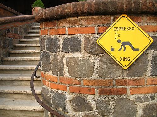 Espresso Xing Sign at Cafetenango