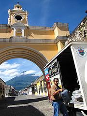 Recycling Burnt Oil in Antigua Guatemala