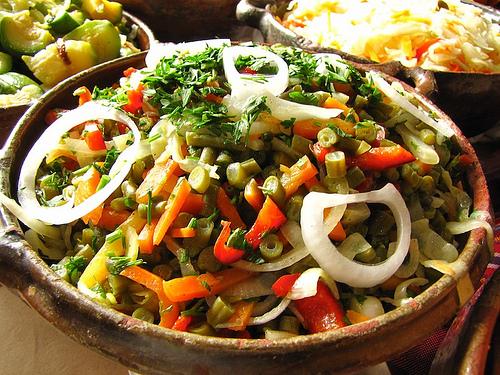 Guatemalan Cuisine: Ensalada de Verduras by Rudy Girón