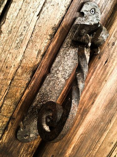 Forged Metal Door Knocker  by Rudy Girón
