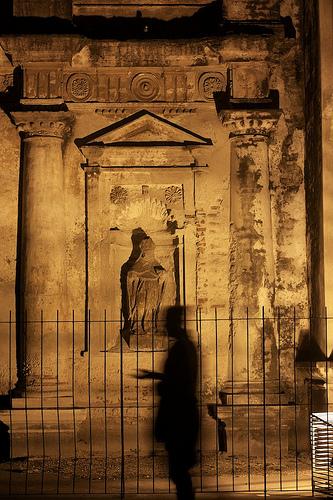 Shadows and Light in Antigua by Rudy Girón