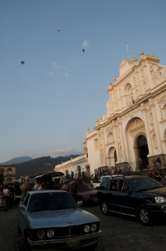 First Day of 2011 in Antigua Guatemala
