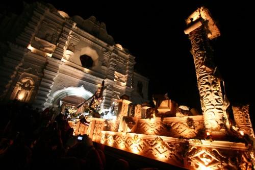Cuaresma 2011 Procesión de Santa Ana by Leonel -Nelo- Mijangos