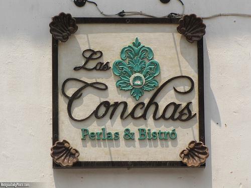 Las Conchas Sign by Rudy Girón