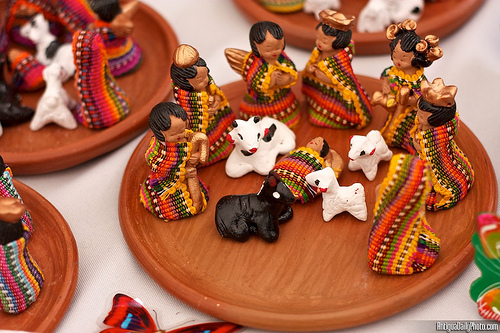 Colorful and Tiny Nativity Scenes by Rudy A. Girón