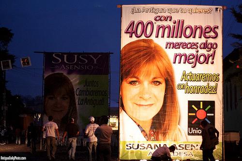 Political Propaganda in Antigua 1