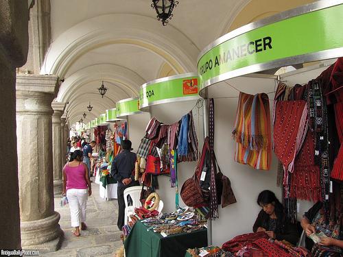 Fair Trade Fair in Antigua Guatemala