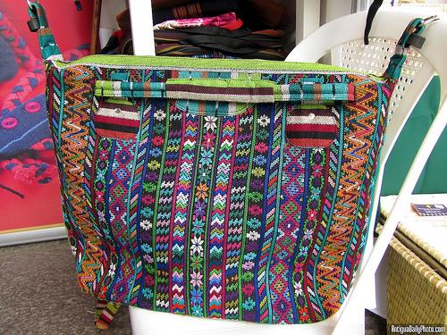 Colorful Guatemalan Purse