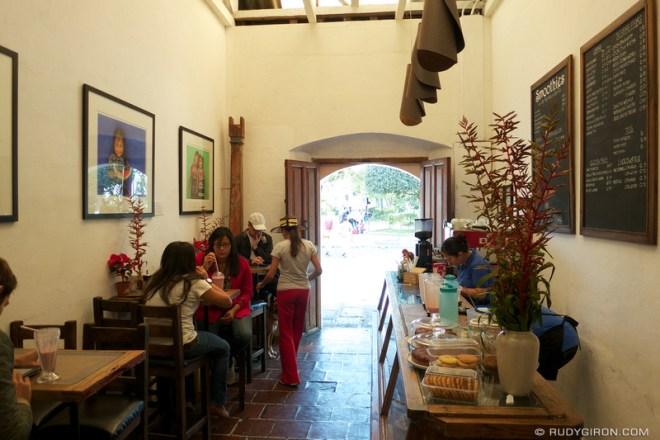 Rudy Giron: Antigua Guatemala &emdash; La Casaca Coffee Shop