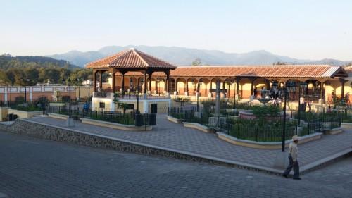 Main Plaza of Ciudad Vieja by Rudy Girón