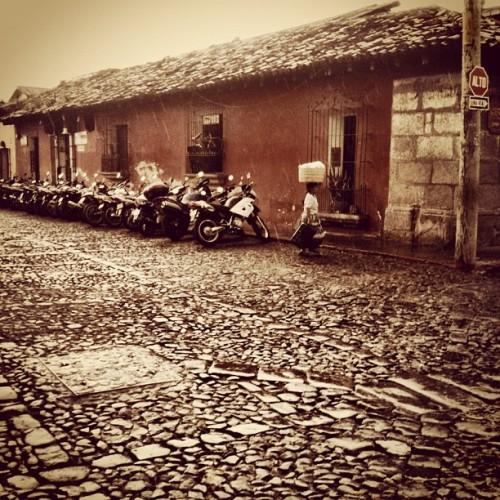 Typical rainy season vista from Antigua Guatemala by Rudy Girón
