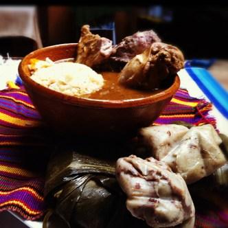 Guatemalan Corpus Christi Food by Mercedes Mejicanos
