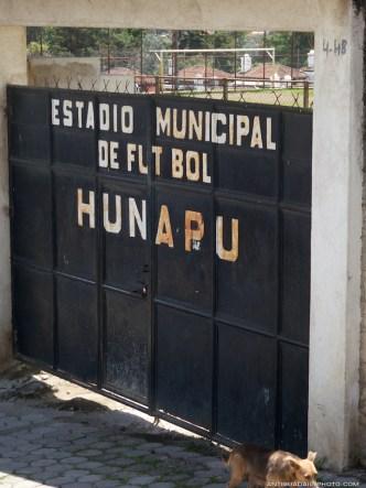 Estadio Municipal de Futbol Hunapú in Ciudad Vieja by Rudy Giron