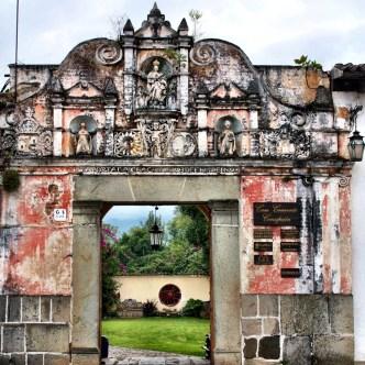 Façade and Entrance of Casa Convento Concepción by Rudy Giron