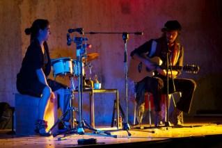 Ishto Juevez + Ixtapoch Vallenas y su cumbia swing y latin blues en CFCE Antigua by Rudy Giron
