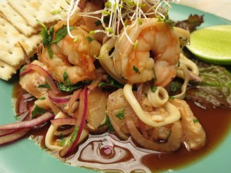 Ubi's Asian Mixed Ceviche by Rudy Giron