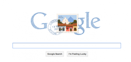 Google celebrated Guatemala's Independence Day with a Doodle