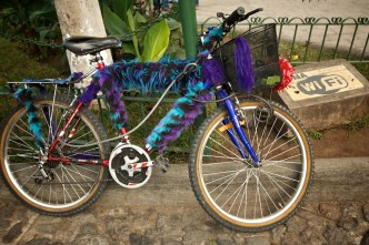Only in LAG: Furry Bicycle by Rudy Giron