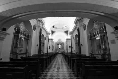 "Inside View of the Escuela De Cristo Churchby Rudy Giron - <a href=""http://www.rudygiron.com"" >www.rudygiron.com</a>"