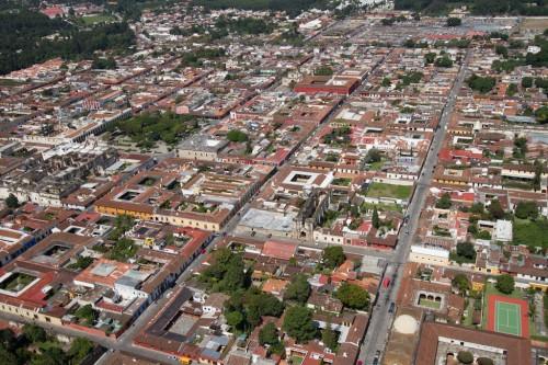 Small and Enchanting Antigua Guatemala from the Air by Nelo Mijangos