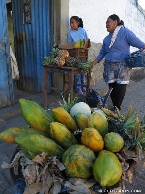 Rudy Giron: AntiguaDailyPhoto.com &emdash; Tropical fruits from Guatemala