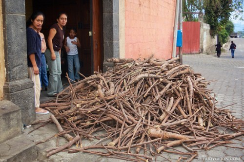 Rudy Giron: AntiguaDailyPhoto.com &emdash; Wood fuel delivery