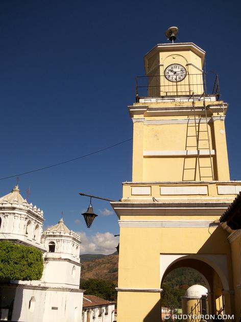 Rudy Giron: AntiguaDailyPhoto.com &emdash; Ciudad Vieja Clock Tower