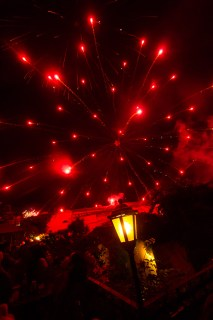 New Year's Fireworks Shows in Antigua Guatemala by Nelo Mijangos