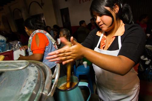 First Vigil of Lent in Antigua Guatemala by Nelo Mijangos