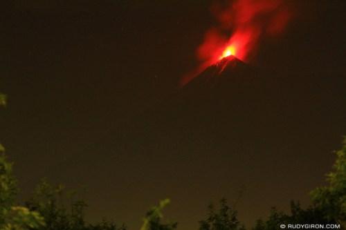 Rudy Giron: 130303 Fuego Erupting &emdash;