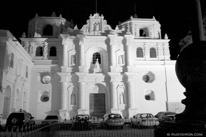 Rudy Giron: Antigua Guatemala &emdash; High Key of La Merced Church