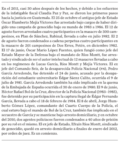 Fragment of Guatemala: Eterna Primavera, Eterna Tirania