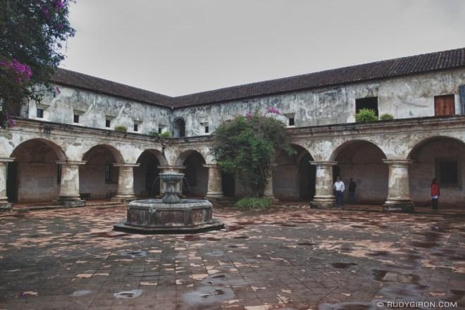 Rudy Giron: AntiguaDailyPhoto.com &emdash; Main Patio of Convento Capuchinas