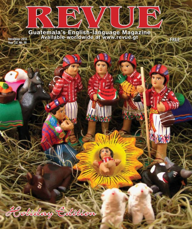 My photograph of a typical Nacimiento is the cover of Revue Magazine for December 2013