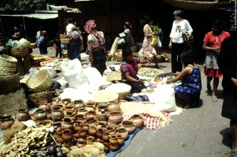 Throwback Saturdays: Antigua Guatemala market august 1973 + image by Brooks Buderus + http://photos.rudygiron.com © Rudy Giron