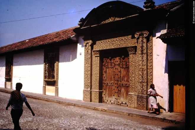 Antigua Guatemala Townhouse 1973 by Brooks Buderus