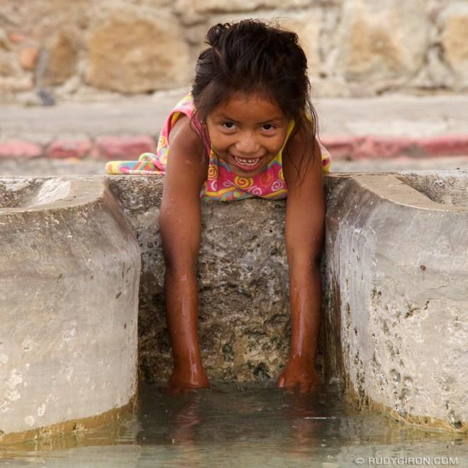 Rudy Giron: AntiguaDailyPhoto.com &emdash; Guatemalan Portrait: La niña de Guatemala
