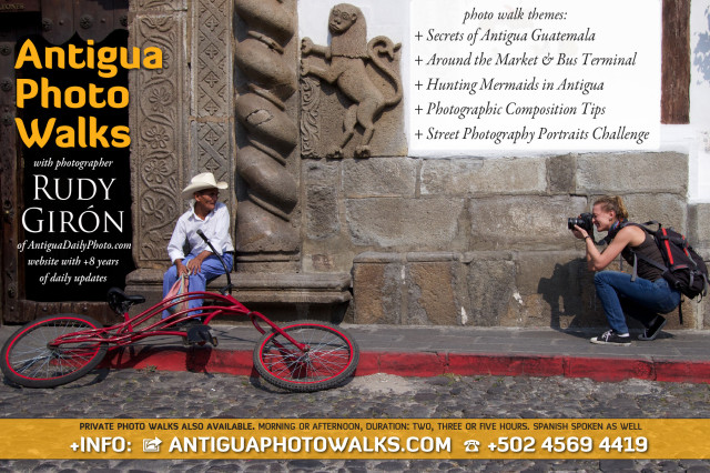 Visit Antigua Photo Walks with photographer Rudy Giron for more information