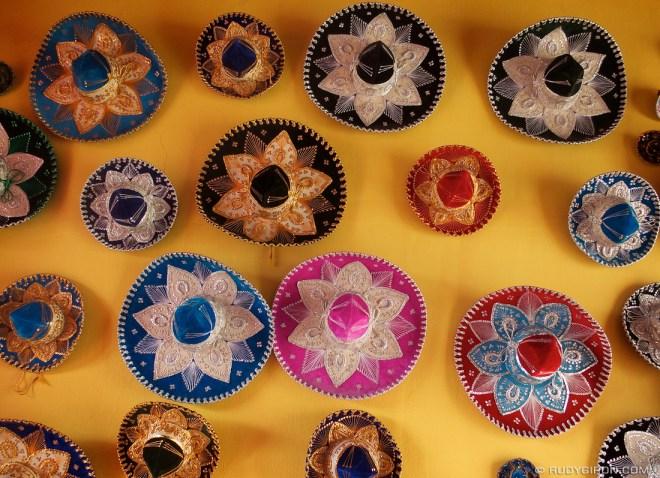 Rudy Giron: Antigua Guatemala &emdash; Colorful Mariachi Hats Decor