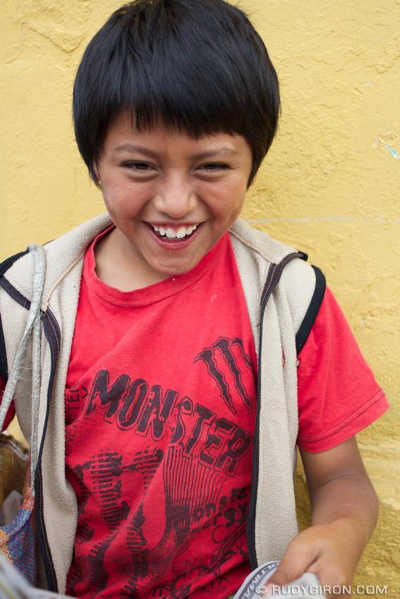 Rudy Giron: Antigua Guatemala &emdash; Take my picture too!