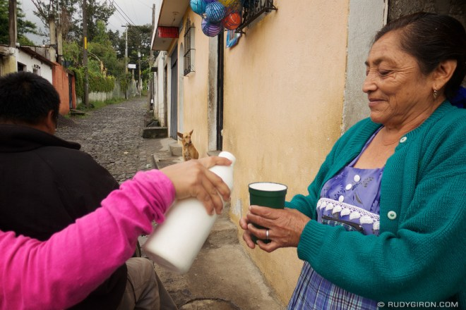Rudy Giron: Antigua Guatemala &emdash; Milk Home Delivery